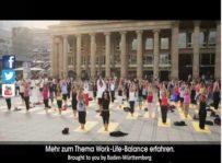 Work-Life-Balance – Flashmob in Baden-Württemberg